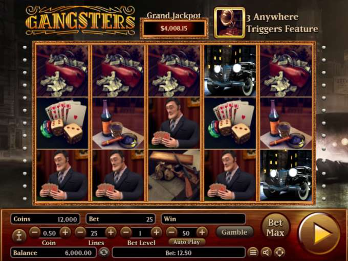 Game Review Gangsters