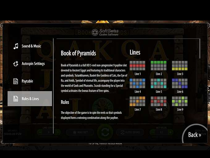 Game Review Book of Pyramids