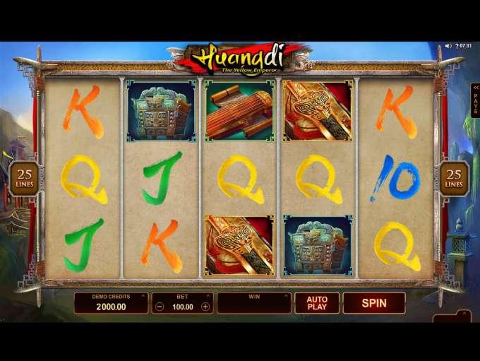 huangdi the yellow emperor casino