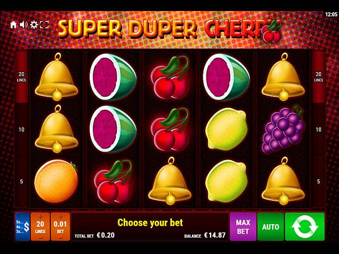 super duper cherry casino
