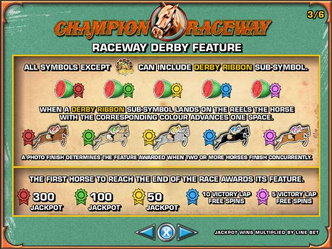 Champion Raceway Slots - Gratis demoversion