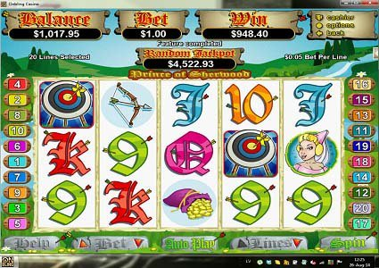 Prince of Sherwood Slot Big Win for Player Sanchya