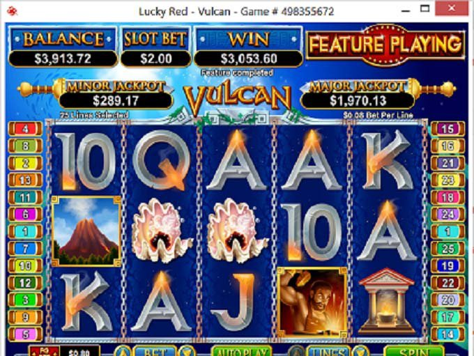 Lucky Red Casino Player Wins Over $3,000