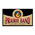 Harrahs prairie band casino logo