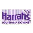 Harrahs louisiana downs logo