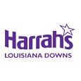 Harrahs louisiana downs logo