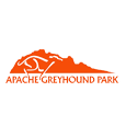 Apache greyhound park logo