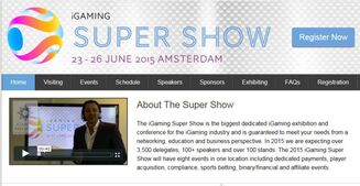iGaming Super Show 2015 - The Greatest iGaming Show