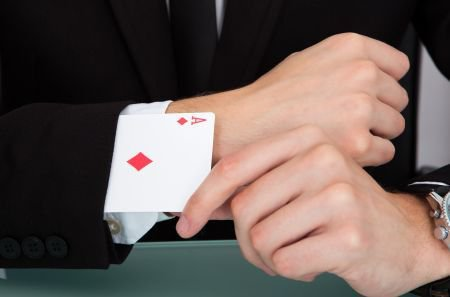 Cheating is a Part of Gambling, but the Best Avoid It