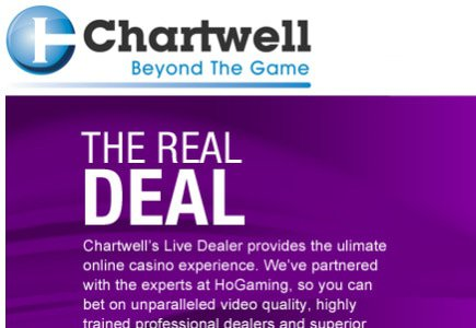 Update: Live Dealer Product from Chartwell