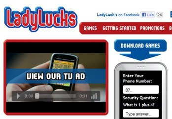 Main ladylucks mobile casino