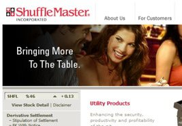Licensing Agreement between Cantor Gaming and Shuffle Master Inc