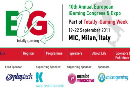 EiG Show in Milan Introduces Workshop on Italian Online Gambling Market