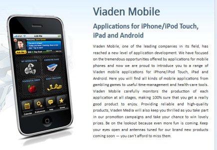 Viaden Goes Mobile