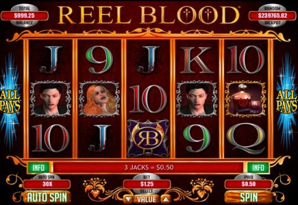 New Slot Reel Blood At Bodog Casino A Thriller