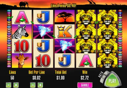 50 Lions Slot Comes to Online Casinos