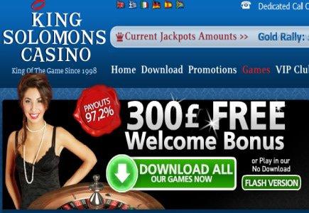 Greek Lucky Streak at King Solomons Casino