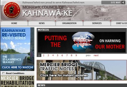 Is Kahnawake Expanding to Terrestrial Action?