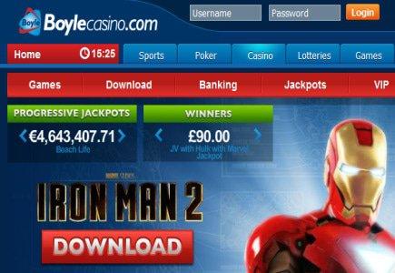 Boyle Sports Presents New Online Casino