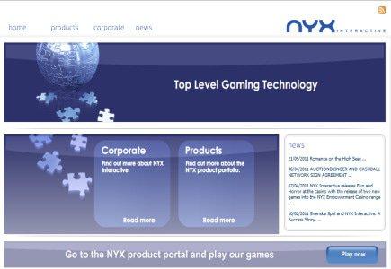 New Developments at NYX Gaming