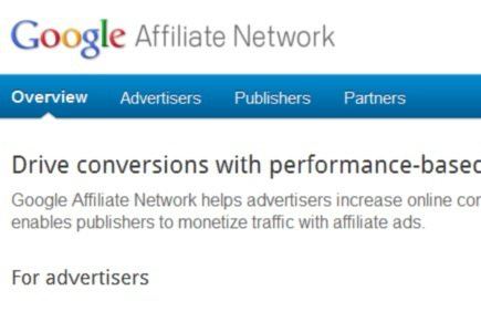 Google Affiliate Network Not to Venture into Online Gambling
