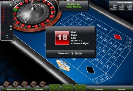 French Roulette launched by Realtime Gaming