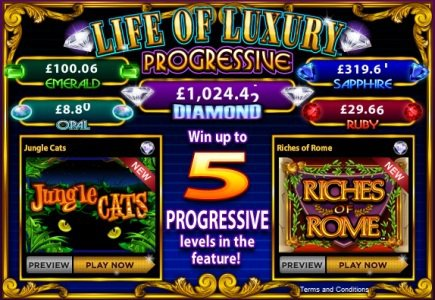 Online Version of the Popular Slot Available on WMS' Jackpot Party