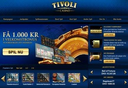 Tivoli Casino Live on Play'n GO platform