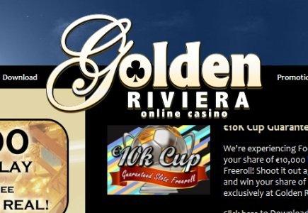 Golden Riviera's new €10,000 Slot Tournament