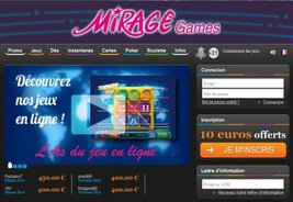 Belgian Punters Accepted at Mirage Games