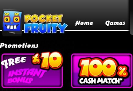 AlchemyBet's PocketFruity Launches New Mobile Title