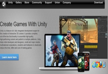 IGT Partners with Unity Technologies