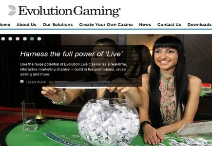 Evolution Launches Mobile iPad Live Dealer Solution