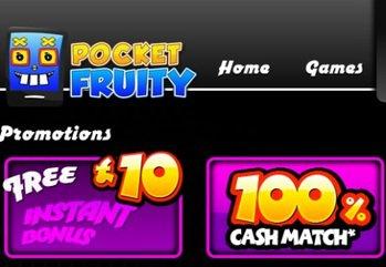 Main pocket fruity