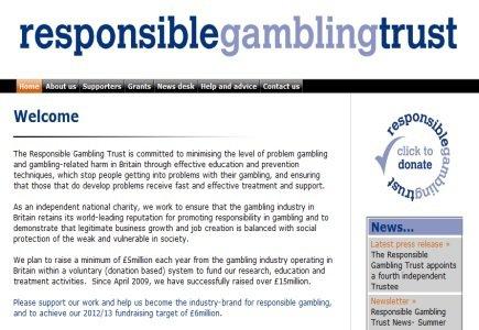 Responsible Gambling Trust Gets New Director