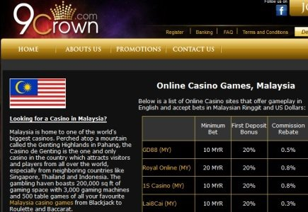 9Crown Casino Offers Services to Asian Punters
