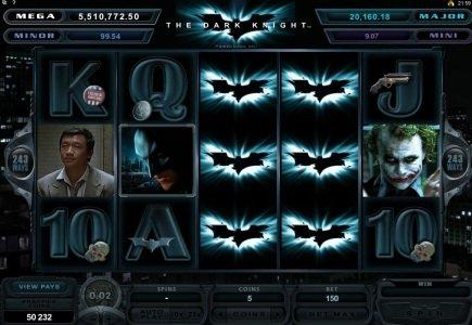 Major Win Hit on Dark Knight Progressive Slot