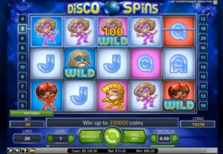 NetEnt Launches Disco Spins