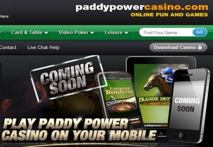 Paddy Power Closes Two New Gaming Partnerships