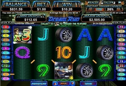 RTG Launches New, Motor Racing-Themed Online Slot