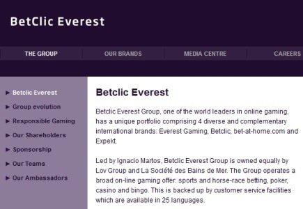 Martos Abandons CEO Position @ Betclic