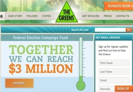 Aussie Green Party Campaigns for Restrictions on Gambling Ads