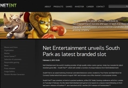 South Park-Themed Slot – The Latest Novelty from Net Entertainment!