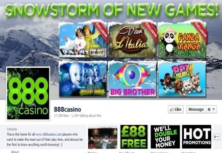 888's Real-Money Facebook Casino Goes Live!