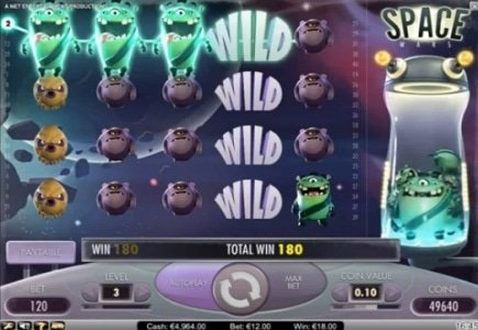 NetEnt Releases New Galactic Slot
