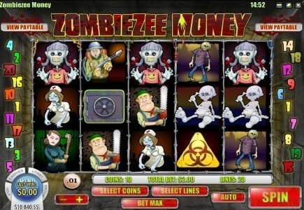 Both Bovada and Rival Introduce Zombie-Themed Slots