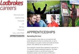 Ladbrokes to Launch First Apprenticeship Scheme
