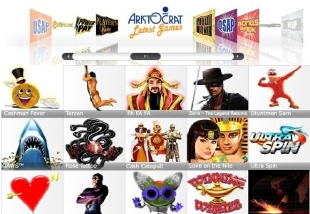 Aristocrat Online Games for Soaring Eagle Casino and Resort