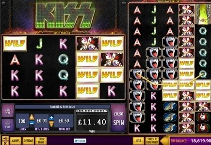 KISS Features in New Jackpot Party Title!