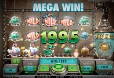 NetEnt Posts Preview of New Slot - EggOMatic